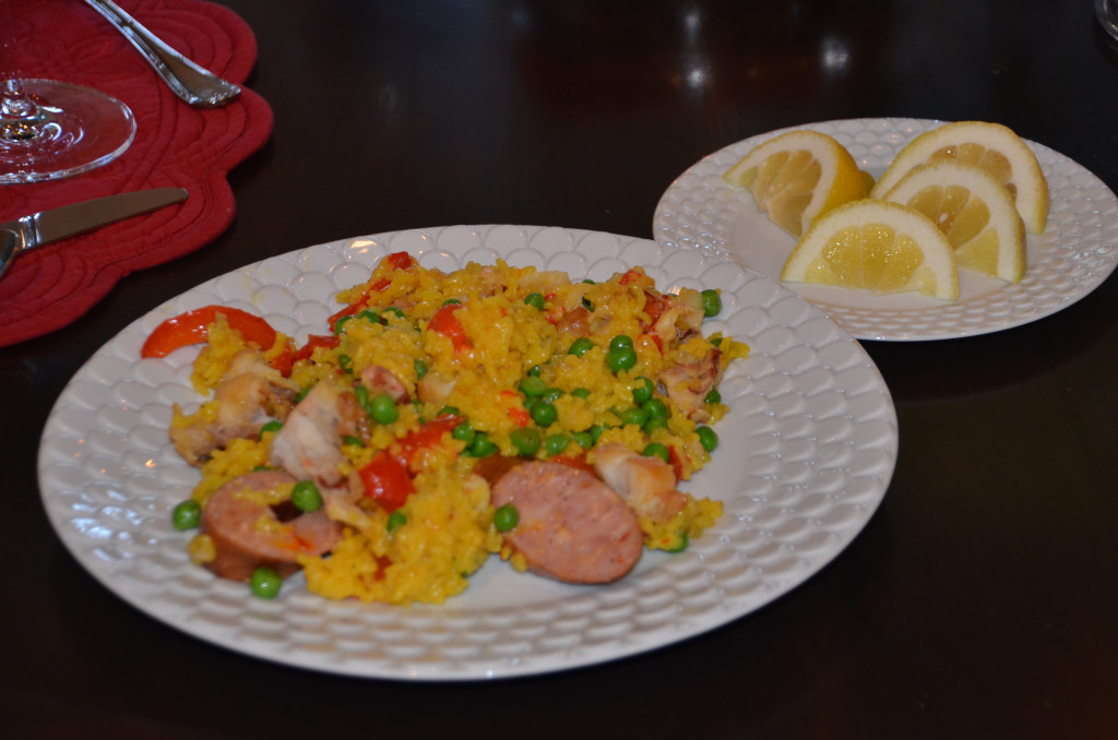 lobster paella
