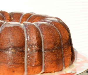 Pecan Sour Cream Coffee Cake 2