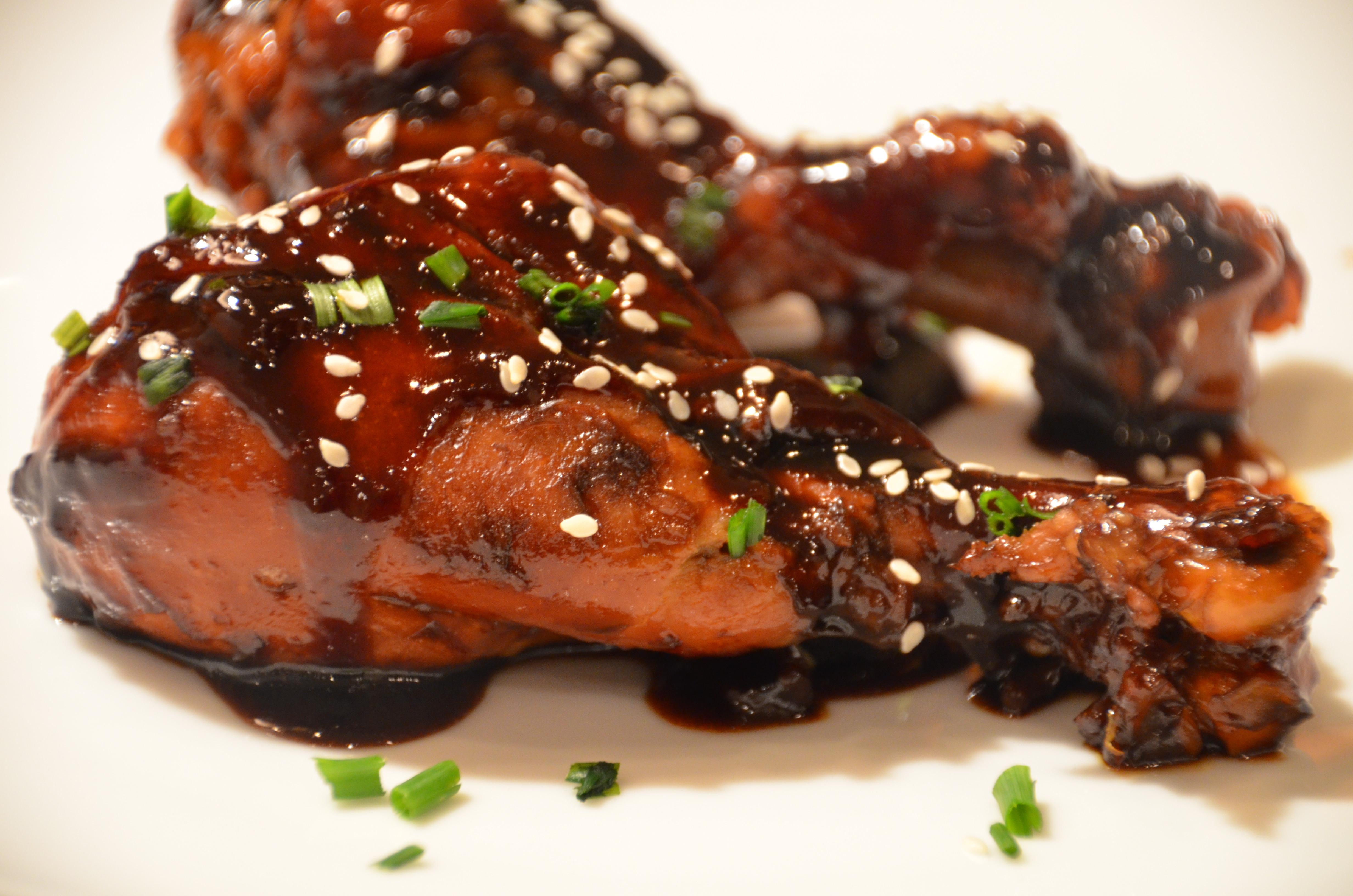 Asian Glazed Drumsticks - Warm House Cozy Kitchen