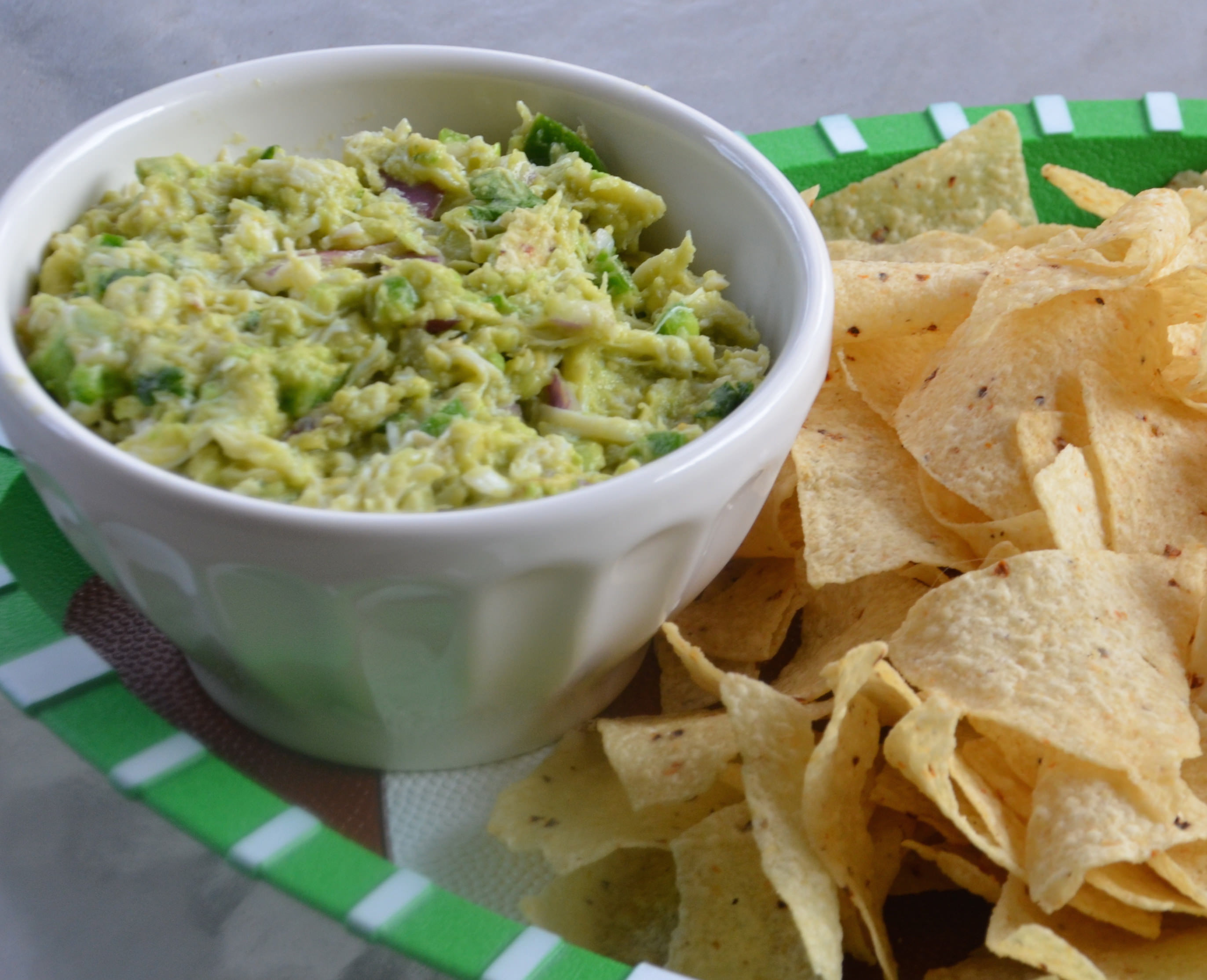 Crab Guacamole - Warm House Cozy Kitchen